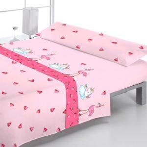 Juego de sabanas infantiles Pink Unicornio